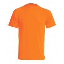 T-shirt JHK SPORT T-SHIRT MAN - ORANGE FLUOR