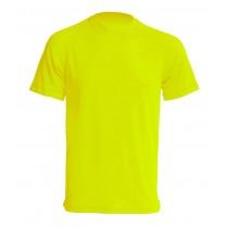 T-shirt JHK SPORT T-SHIRT MAN - GOLD FLUOR