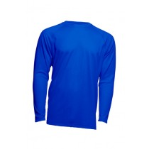 SPORT T-SHIRT MAN LS  - ROYAL BLUE