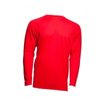 SPORT T-SHIRT MAN LS  - RED