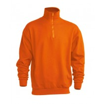 Bluza JHK SWRA ZIP ORANGE