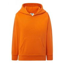 KID SWEATSHIRT KANGAROO ORANGE