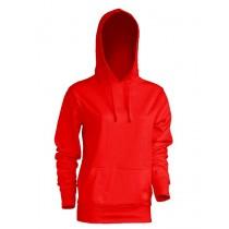 Bluza damska z kapturem SWUL KNG RED