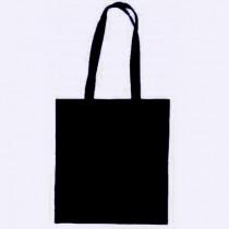 Torba bawełniana BUDGET, kolor BLACK