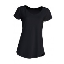 Damski T-shirt. URBAN SEA LADY. TSLSEA - BLACK