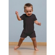 BABY PLAYSUIT - BLACK