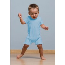 BABY PLAYSUIT - SKY BLUE