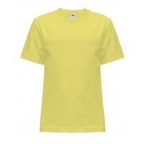 T-shirt JHK TSRK 150 LIGHT YELLOW