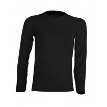 T-shirt KID LS JHK TSRK 150 LS BLACK