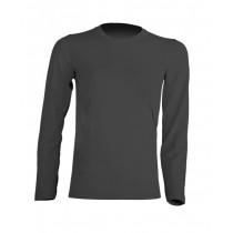 T-shirt KID LS JHK TSRK 150 LS GRAPHITE