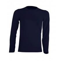 T-shirt KID LS JHK TSRK 150 LS NAVY