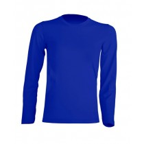 T-shirt KID LS JHK TSRK 150 LS ROYAL BLUE