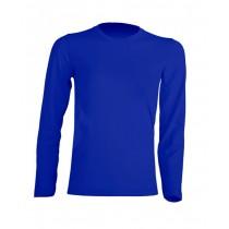 T-shirt KID LS JHK TSRK 150 LS ROYAL BLUE
