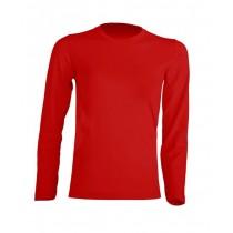 T-shirt KID LS JHK TSRK 150 LS RED