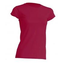 T-Shirt JHK TSRL 150 BURGUNDY