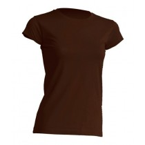 T-Shirt JHK TSRL 150 CHOCOLATE