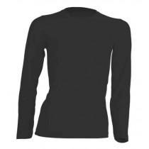 T-shirt damski z długim rękawem JHK TSRL150 LS BLACK