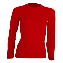 T-shirt damski z długim rękawem JHK TSRL150 LS RED