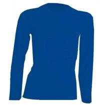 T-SHIRT DAMSKI z długim rękawem JHK TSRLCMF LS ROYAL BLUE