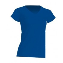 REGULAR LADY COMFORT V-NECK - ROYAL BLUE