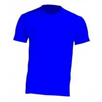 T-Shirt V-neck JHK TSUA PICO ROYAL BLUE