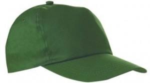 Czapka pięciopanelowa CZA001 - kolor BOTTLE GREEN