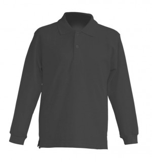 Polo KID LS JHK PKID 200 LS GRAPHITE