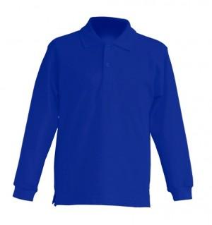 Polo KID LS JHK PKID 200 LS ROYAL BLUE