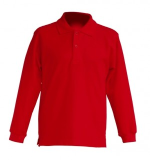 Polo KID LS JHK PKID 200 LS RED