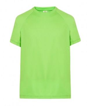 T-shirt JHK SPORT T-SHIRT MAN - LIME