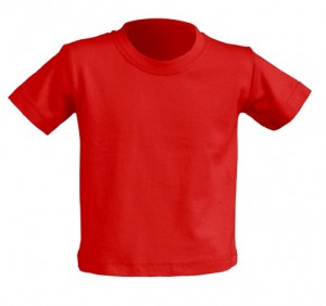 T-shirt BABY JHK TSRB 150 RED