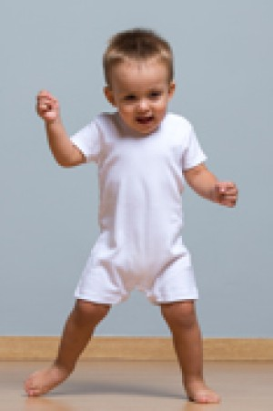 BABY PLAYSUIT - WHITE