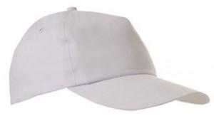 Czapka pięciopanelowa CZA001 - kolor WHITE